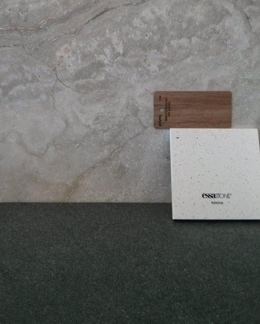 Guest bathroom tile selections