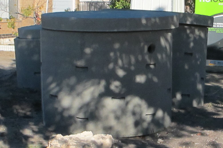 """Soakwells are subsurface water tanks that aid in the on-site detention of rain water collected from roof areas. Soakwells protect your home against flooding, soil erosion and rain damage. In addition, soakwells prevent your water from flowing into neighbouring properties."" - Source: Simply Soakwells."