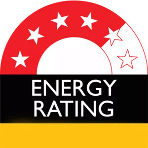 Energy rating label - Cooking with Gas