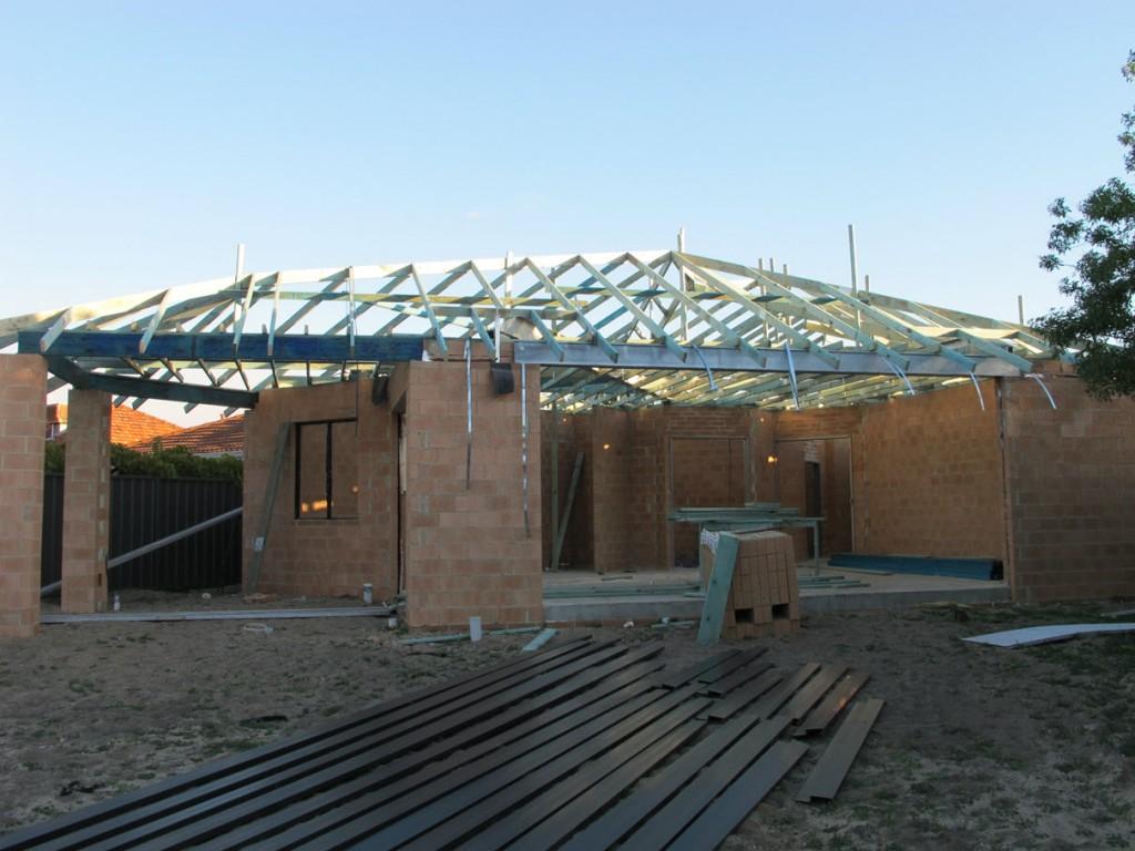Crazy roof