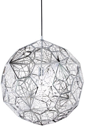 Replica Tom Dixon Etch Web Pendant Light from Matt Blatt
