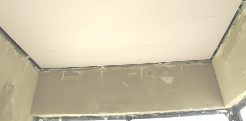 Shadowline ceiling