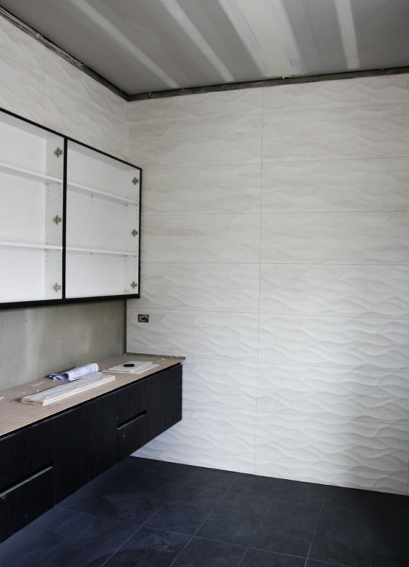 Ona Blanco tiles in the ensuite