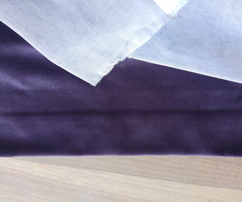 Energy Efficient Curtains - heavy velvet drapery and sheers