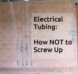 Electrical tubing - how not to screw up your on site meeting!